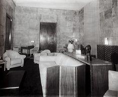 A photo of the de Noailles Paris salon decorated by Jean-Michel Frank.