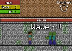 JuegosMinecraft.es - Juego: Minecraft Ataque Zombi - Jugar Juegos Gratis Online Flash