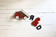 Vintage toys by Utopia on Etsy Wooden Toy Trucks, Vintage Toys, Etsy, Unique Jewelry, Handmade Gifts, Shop, Kid Craft Gifts, Old Fashioned Toys, Craft Gifts