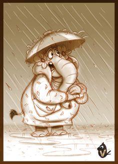 ArtStation - Rainy Day, Vipin Jacob
