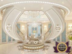 Luxury villa design in Dubai from Katrina Antonovich, Katrina Antonovich - Luxury Living For You Luxury Home Decor, Luxury Interior, Luxury Homes, Design Entrée, Villa Design, Design Ideas, Beautiful Interiors, Beautiful Homes, Conception Villa