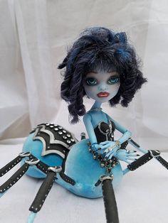 Custom Monster High ooak spider arachne