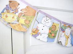 what mommies do best / what daddies do best, repurposed children story book, nursery bedroom / birthday garland, gift under 20