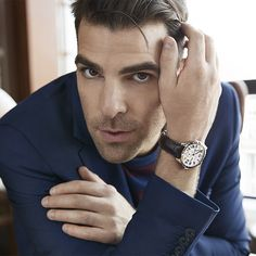 Indianapolis Fine Jewelry and Watch Leader Star Trek Cast, Chris Paul, Zachary Quinto, Luxe Life, American Actors, Cute Guys, Gorgeous Men, Fashion Watches, Daniel Wellington