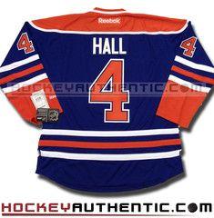 Taylor Hall Edmonton Oilers home Reebok jersey | Hockey Authentic
