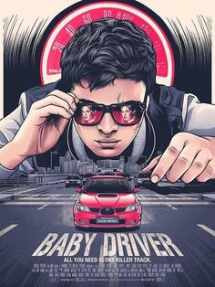 Fan of action thrillers and want some cool posters from Baby Driver? Check out our awesome Baby Driver poster collection. Best Movie Posters, Minimal Movie Posters, Cinema Posters, Movie Poster Art, Cool Posters, Film Poster Design, Buy Posters, Poster Print, Poster S