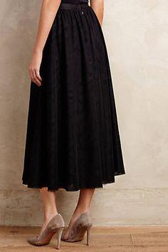 Floristic Tulle Skirt