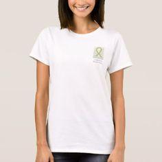 Gray and Yellow Ribbon Awareness Custom Shirts
