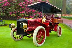 1904 White Model E Steam Car