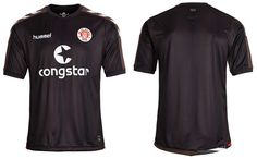 Camisa titular (home) do St. Pauli 2015-2016 Hummel