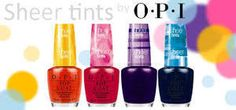 Image of OPI - Sheer Tints