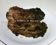 La scarola 'mbuttunata (imbottita), ricetta napoletana