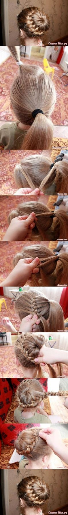 Check it out 13 beautiful braided hairstyles Rosery Braided Bun Hairstyle Tutorial The post 13 beautiful braided hairstyles Rosery Braided Bun Hairstyle Tutorial… appeared first on Top Haircuts .