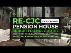 Looking for a budget friendly accommodation in Cebu? Check out RE-CJC Pension House. They are situated along national road in Basak, Mandaue City, Cebu - jus. National Road, Cebu, Budgeting, Blog, House, Home, Budget Organization, Blogging, Homes