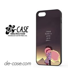 Star Vs The Forces Of Evil Quotes DEAL-9959 Apple Phonecase Cover For Iphone SE Case