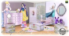 Jom Sims Creations: Once Upon A time kidsroom • Sims 4 Downloads