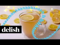 Want a detox drink recipe? This Detox Lemonade from Delish.com will make you feel amazing.