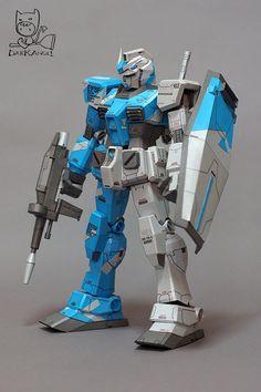 RX-78 Gundam Papercraft by Dark Angel - http://www.papercraftsquare.com/rx-78-gundam-papercraft-by-dark-angel.html#Gundam, #RX78, #RX78Gundam