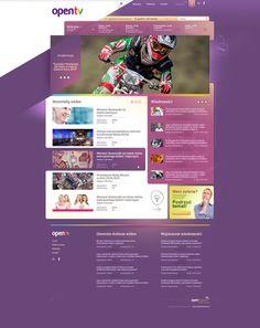 this website design has some unique flare