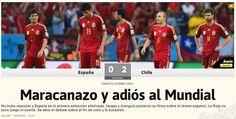 La portada del diario As de España .