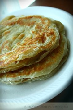 I have never imagined myself making Roti Canai on my own. Thought roti canai is the most difficult thing to make.Grew up watching my aunt; from kneading to stretching this roti I knew I would fail … Malaysian Cuisine, Malaysian Food, Malaysian Recipes, Malaysian Roti Recipe, Roti Canai Recipe, Roti Bread, Paratha Bread, Paratha Recipes, Bread And Pastries