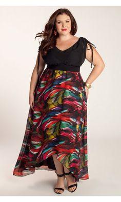 Jean Maxi Dress http://www.curvety.com/dresses-c1/pre-order-dresses-c15/igigi-by-yuliya-raquel-jean-maxi-dress-in-multi-p352