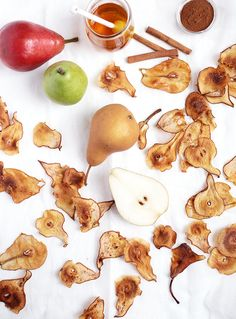Roasted Cinnamon and Honey Pear Chips   The Merrythought