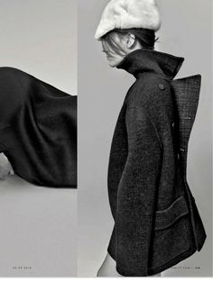 Coat To Coat: Jennifer Pugh, Jamily Meurer, Taryn Davidson, Dylan Fosket, Philip K And Jesse Urban By Kelly Klein For Vanity Fair Italia 24th September 2014