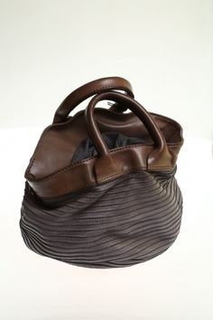 Women Medium bag Grey Soft leather MAJO