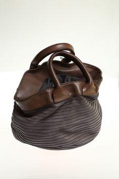 Medium bag Grey Soft leather MAJO