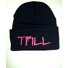 fb61ba0bec3 TRILL beanie hat Professionally embroidered by The Tshirt Shop Any colour  beanie