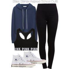 Stiles Stilinski Inspired School Outfit