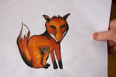 Foxy - Original Drawing