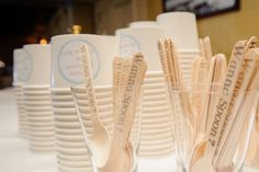 Ice Cream Cup & Spoon Wedding or Shower Favor. Ice Cream Bar!