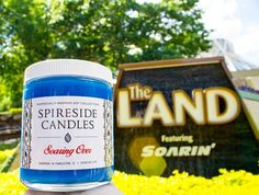 What's your favorite part of The Land?  Soarin' may have changed but our original orange grove scented Soaring Over is still the same!  GIVEAWAY ENDS TODAY! Check out the original post below this one in our feed for details on how to win our Neverland Mist candle signed Neverland print from @jeffgranitodesigns and sweet Neverland beanie from @whositswhatsits   Lovely photo from @lisa.disney Tag us @spireside for a chance to be featured!    #spireside #spiresidecandles #theland #epcot #soarin…