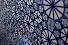 Blue and White: Turkish Tiles