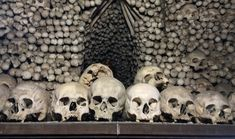 Located outside Prague, the Kutna Hora Bone Church is as much creepy as it is interesting with its bones. Here is a guide to help plan your visit. Sedlec Ossuary, How To Make A Chandelier, The Catacombs, Modern Church, Going On A Trip, Tourist Spots, Beautiful Buildings, Eastern Europe, Pilgrim