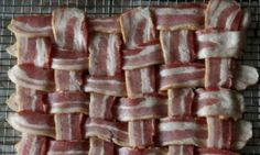 Bacon Lattice Pizza Crust ~ I cannot picture this but might be a good option. I also don't know why all these so called paleo pizza recipes have cheese. Primal Recipes, Ketogenic Recipes, Low Carb Recipes, Diet Recipes, Cooking Recipes, Ketogenic Diet, Pizza Recipes, Easy Cooking, Recipes Dinner