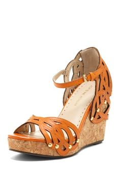 Clementine Wedge by Adrienne Vittadini on @HauteLook  $62.00