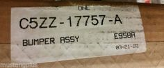 1964-65-66-FORD-Mustang-NOS-FRONT-BUMPER-C5ZZ-17757-A