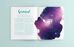 Lemonade Magazine is a magazine concept for a publication aimed at  girls between the age of 14-24, who are interested in geek culture, art and design, and social issues.