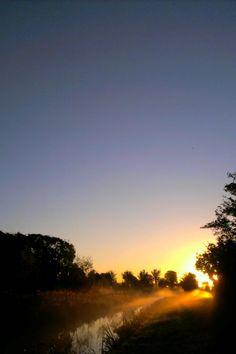 Nice autumn morning Autumn Morning, Van, Celestial, Sunset, Nice, Places, Outdoor, Outdoors, Sunsets