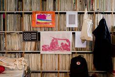 """Record Collection (Freunde von Freunden interviews - Athanassios """"Ata"""" Macias)  #vinyl"""