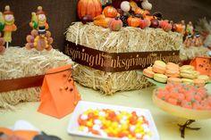 Traditional Thanksgiving Decor !  Custom Dessert Bar styled by Ganache. Like us at www.facebook.com/styledbyganache