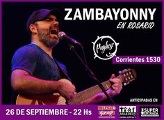 ZAMBAYONNY en #Rosario septiembre 2014 #prensa