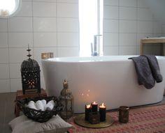 Love the tub Candle Picture, Bathroom Goals, Bathroom Ideas, Bath Candles, Dream Bath, Beautiful Candles, Interior Design, Bohemian, Bad