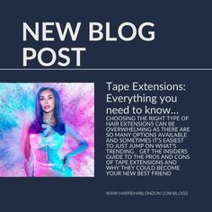 This is the go-to guide for Tape Extensions (other methods to follow). Find out if you have the right type of hair, if Tapes will suit your lifestyle and just how much investment you will need to make to keep them looking lovely for a long time to come just like our celebrity Hair Rehab London Tape extension wearers. Also find out which salons near you can offer advice, guidance and Hair Rehab London extension fitting.  #tapeextensions #tapeins #tapehair #hairrehablondon Fusion Extensions, Types Of Hair Extensions, Tape In Hair Extensions, Celebrity Hairstyles, Cool Hairstyles, Hair Rehab London, Natural Hair Types, London Blog, Best Salon