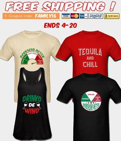 FREE SHIPPING! Ends 4-20. Code: FAMILY16. Design Your T-shirt at https://tshirtdesignshop.spreadshirt.com #coupon