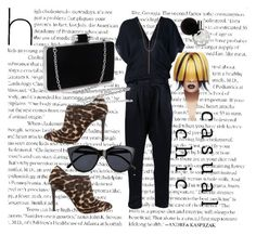 """""""Tasha"""" by modreflectionblog on Polyvore featuring ISABEL BENENATO, Lanvin, Le Specs and Lana"""