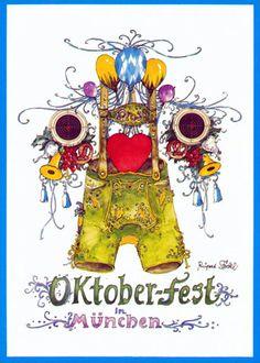 oktoberfest lederhose by Rupert Stöckl